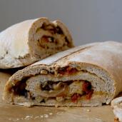 stuffed sourdough bread