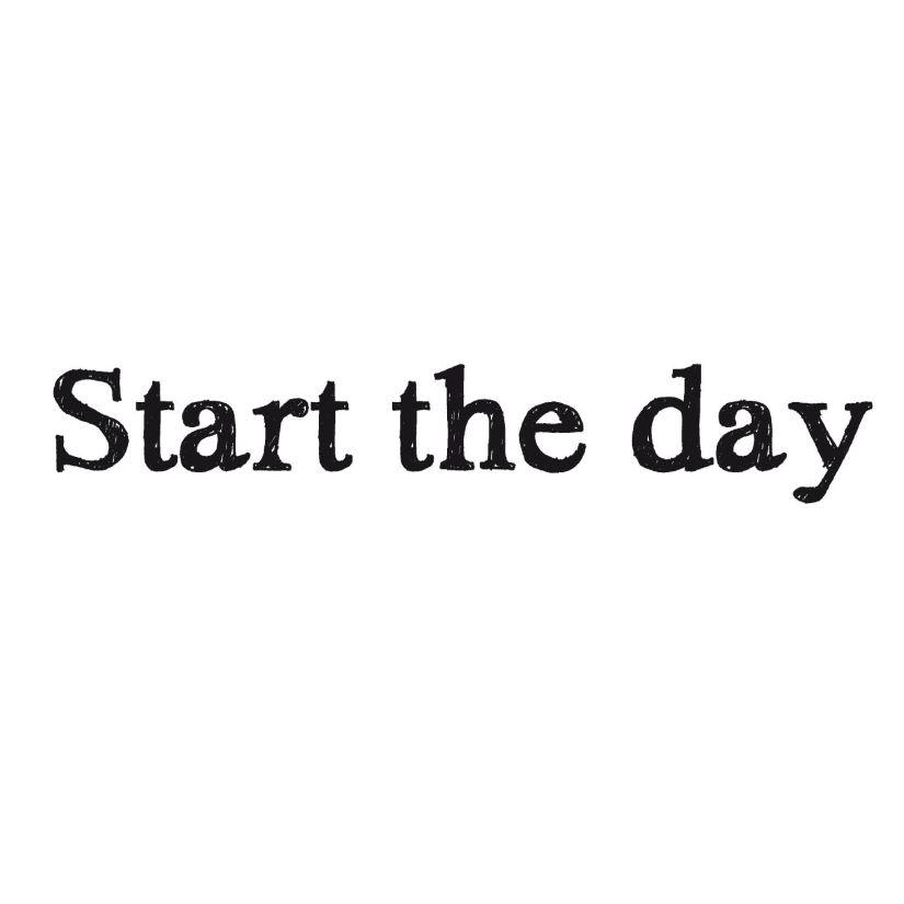 starttheday