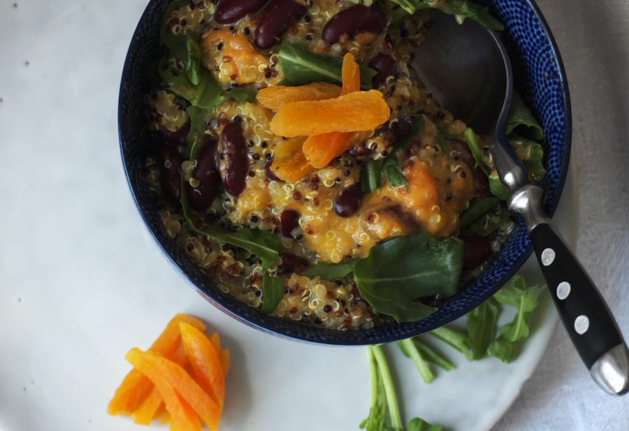 Quinoa_mit_Aprikose_2