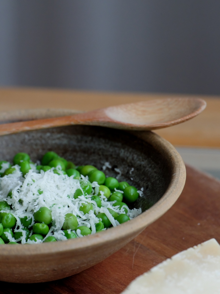 Peas and Parmesan
