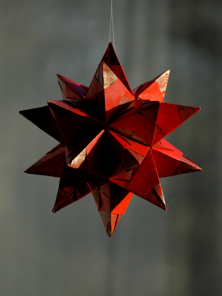 Star from paper