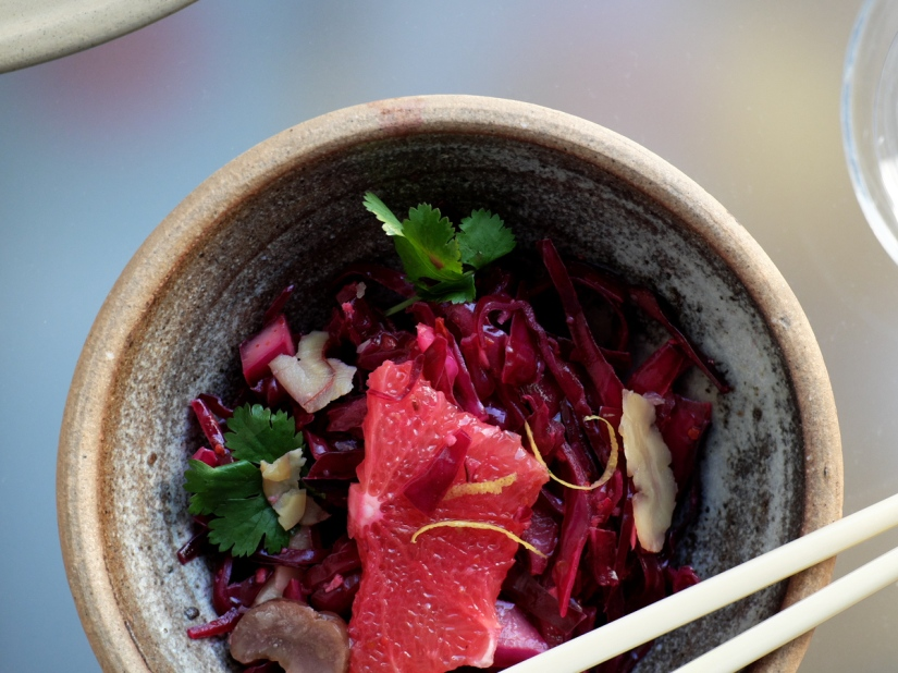 Red cabbage Asian style