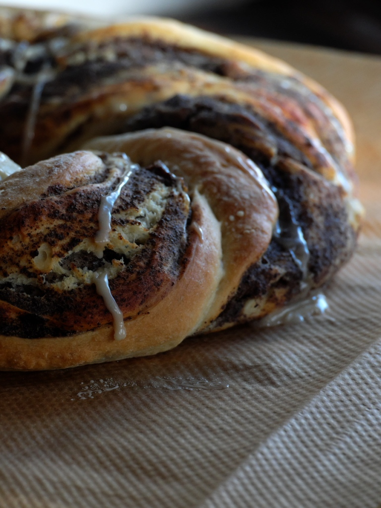 Poppy seeds filling